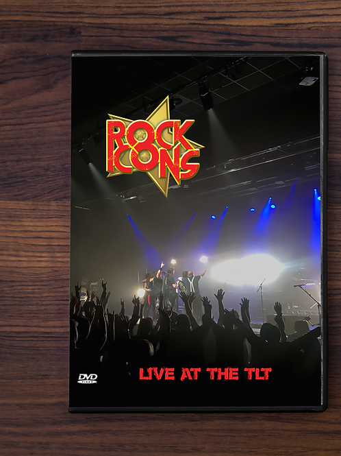 Rock Icons Live At The TLT DVD