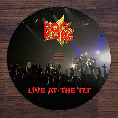 Rock Icons Live At The TLT CD Audio