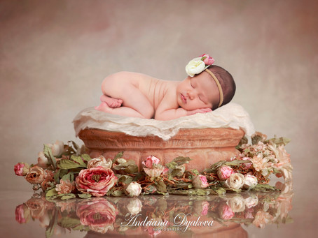 San Diego Newborn Photographer: Spring Babies are like flowers that are forever in bloom