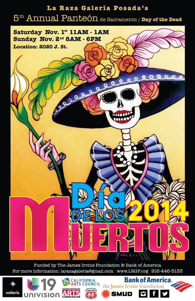 CHOICES will be participating in La Raza Galeria Posada's 5th Annual Panteon of Sacramento - Dia de