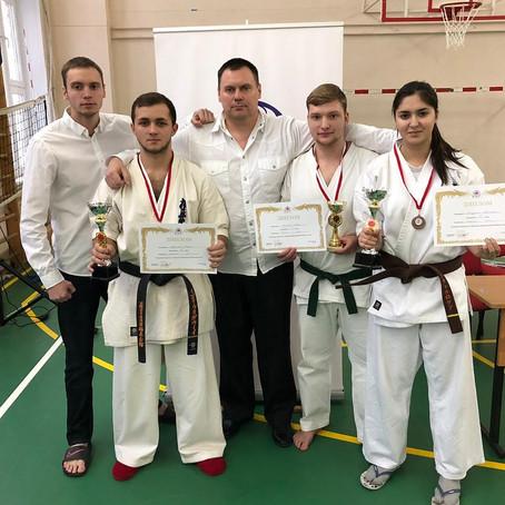 Первенство и Чемпионат федерации  KWF Москва