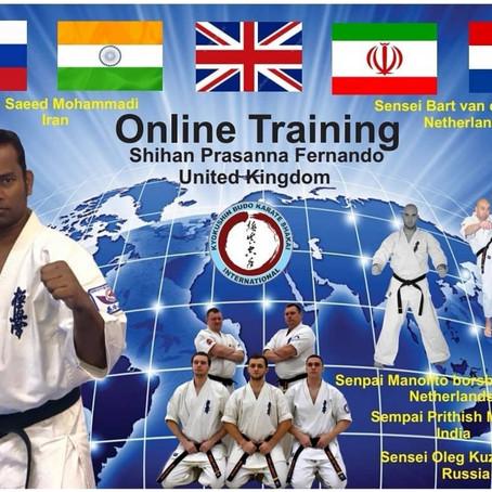 Международная онлайн тренировка