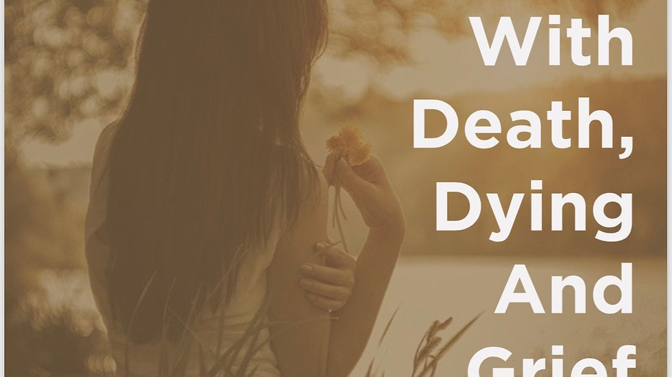 How To Deal With Death, Dying And Grief by Dr. Purposed Carn