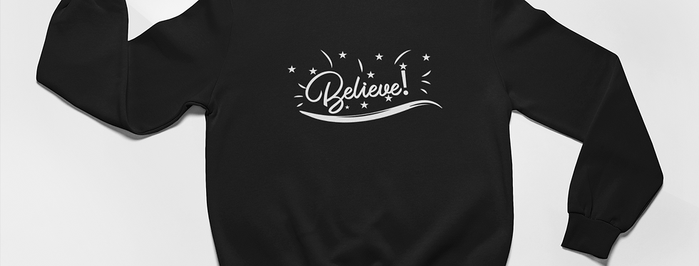 BELIEVE SWEATER