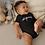 Best Kids Fashion Black Unisex Bodysuits