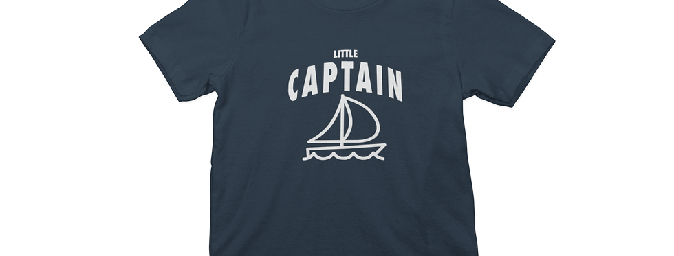 LITTLE CAPTAIN TEE