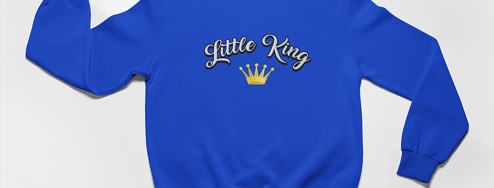 LITTLE KING CROWN SWEATER