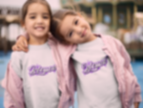 kids with blessed Painted T Shirt