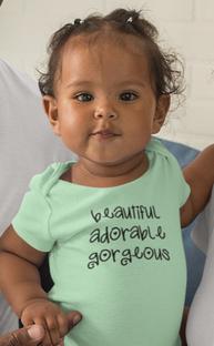 T shirt mockup of a family of three