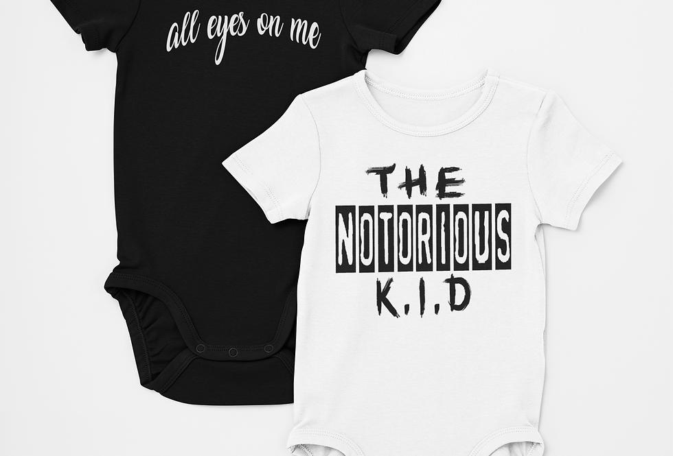 Best Kids Fashion 2-pack Unisex Bodysuits