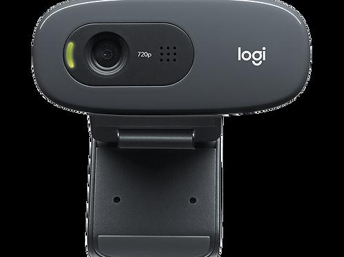 כולל מיקרופון מובנה  Logitech HD Webcam C270 720p מצלמת רשת