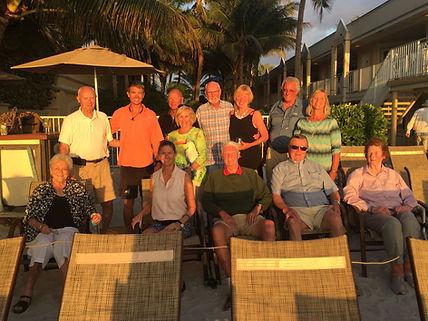 Long time friends of the Vanderbilt Beach Resort