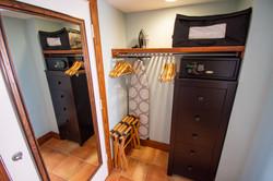 Gulfside Studio Closet and Safe