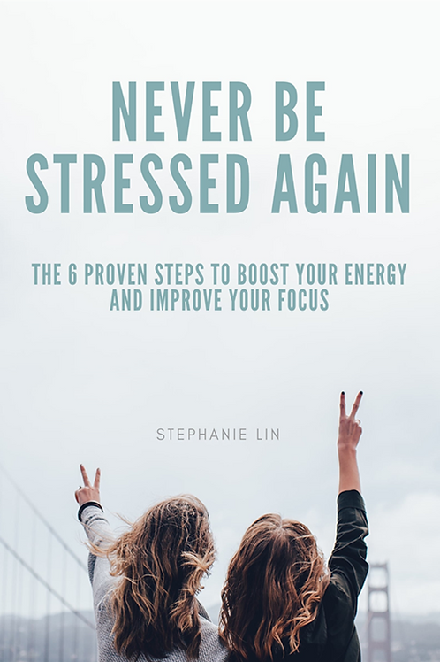 Book : Never Be stressed Again
