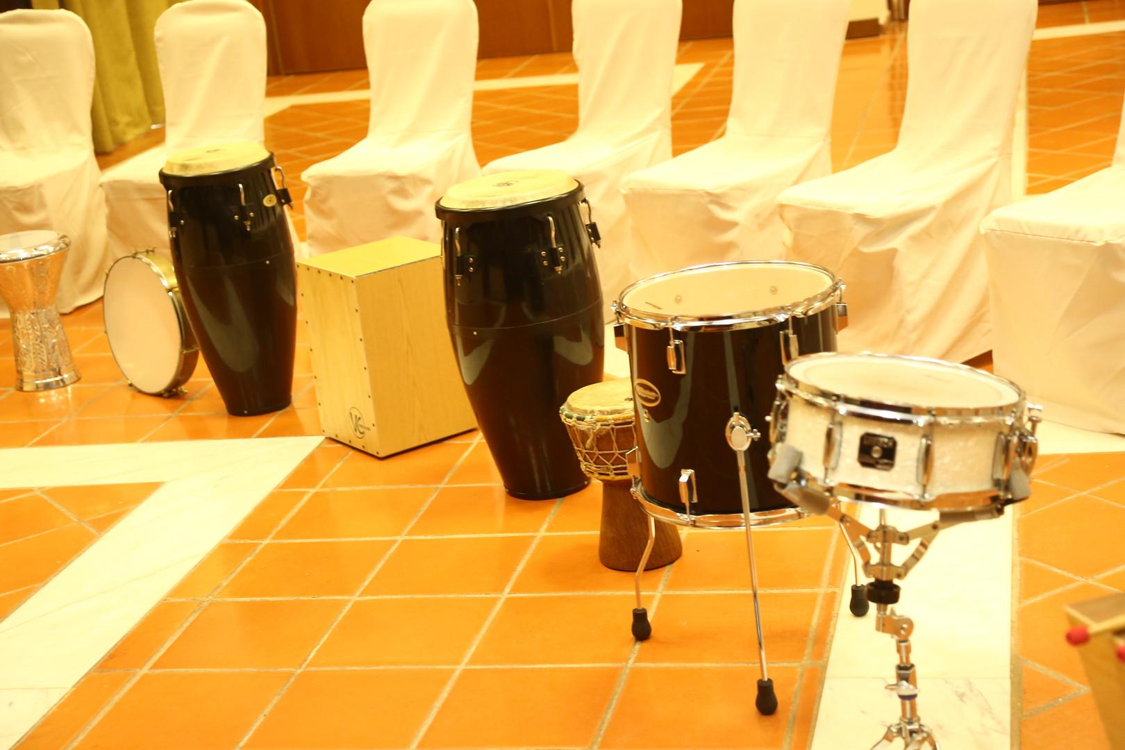 Percussão Tribal | Team Building Musical