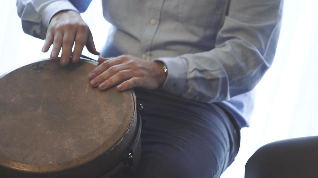Percussão Tribal | Team Building e Reunião de Empresa | 55 Participantes