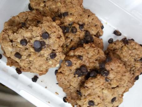 עוגיות גרנולה טעימות ופריכות.