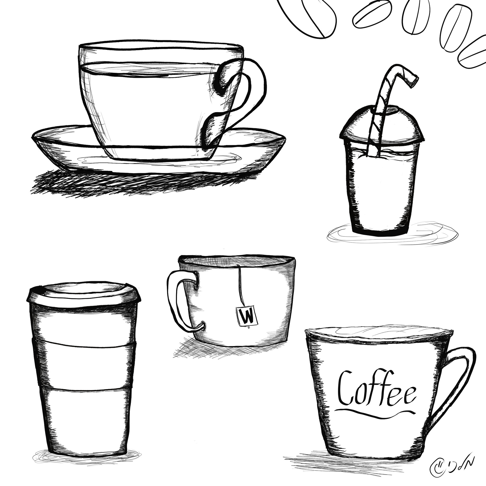 כוסות קפה