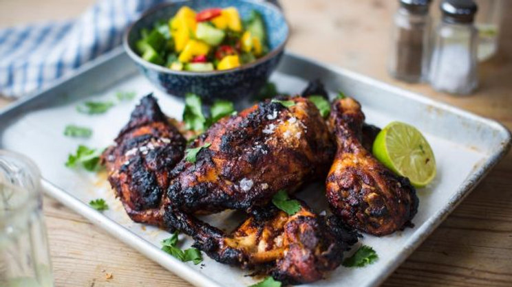 Chicken (Jerked, Fried, Curried, Stewed)