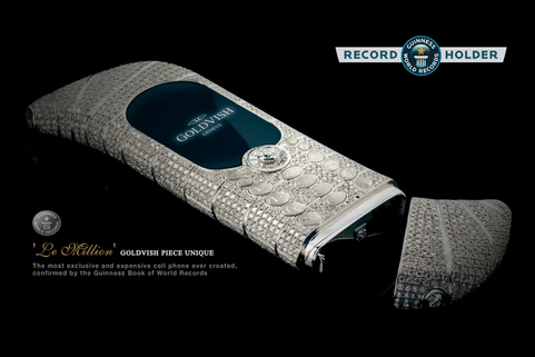 Guinness World Records - Most Expensive Phone ever made