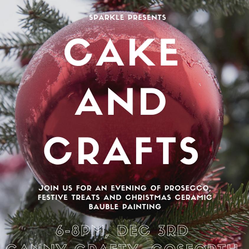 Christmas Cake and Crafts