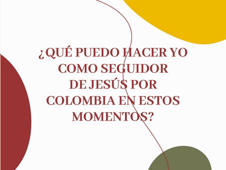 ¿Qué puedo hacer YO como seguidor de Jesús en estos momentos?. 🤔