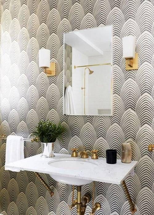 Salle De Bain Style Art Deco - onestopcolorado.com -