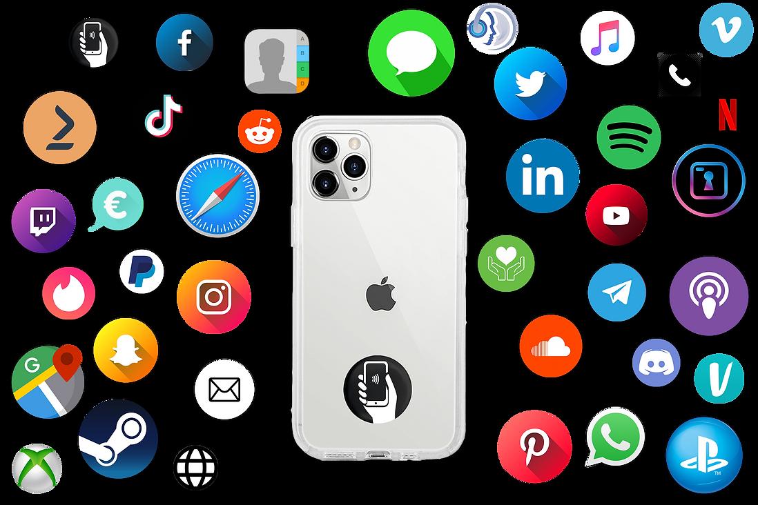 Socialmedia Icoontjes