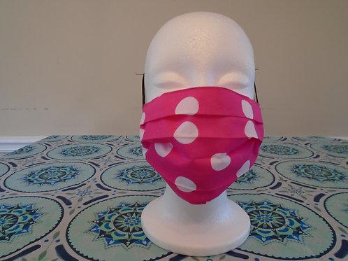 Pink Polka Dot/Mask