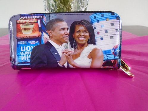 Barack And Michelle Obama Wallet