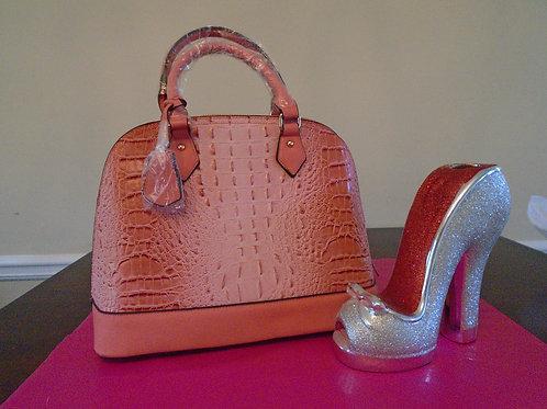 Everyday Pink Leopard Handbag