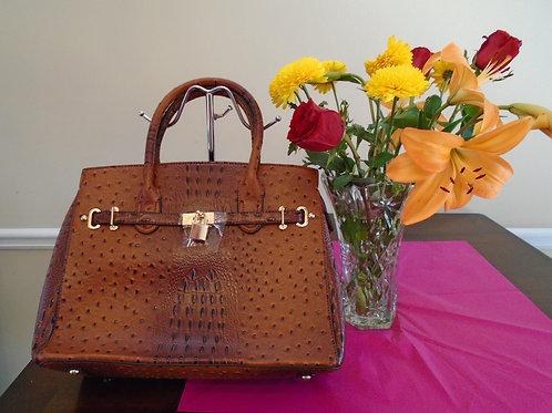 Diva Beautiful Cognac Handbag