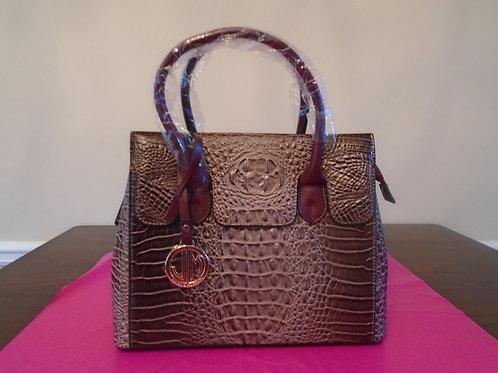 Diva Everyday Handbag/Dark Beige/Brown