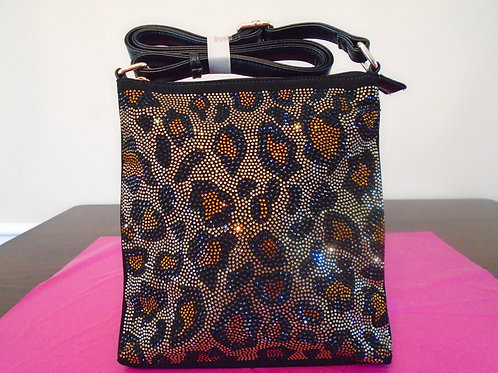Diva Bling Animal Print Slingback Purse