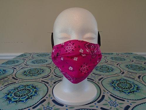 Pink Bandana/Mask