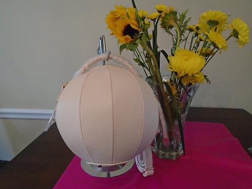 Cream Round Handbag