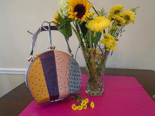 Diva Animal Print Handbag/Multi Color
