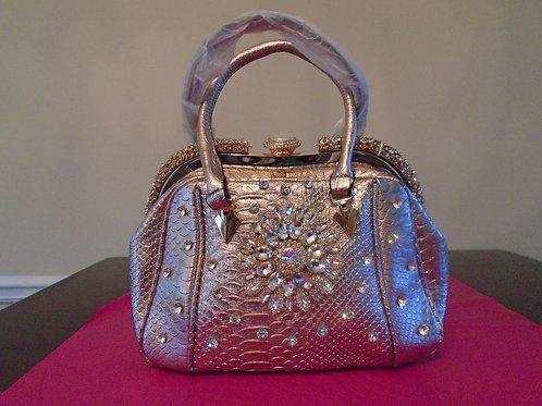 Rose Gold Sparkle Handbag