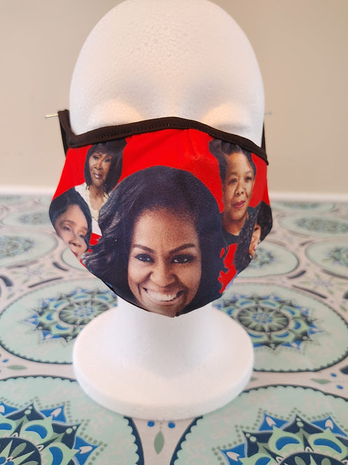 Michelle Obama/Black History Mask