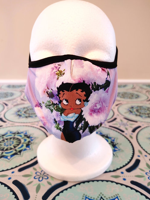 Black Betty Boop Mask