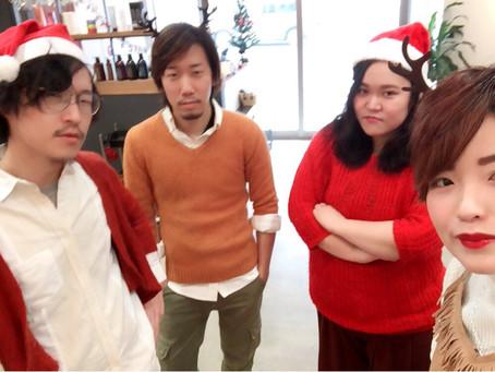 クリスマスのプチコスプレ営業