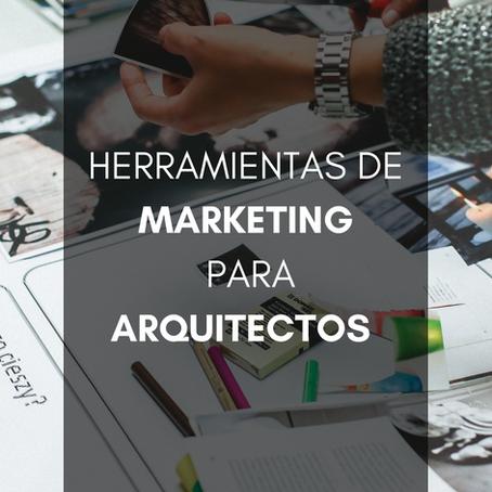 Herramientas de Marketing para Arquitectos