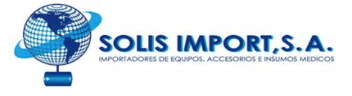 SOLIS IMPORT, S.A.