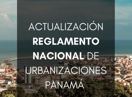 Reglamento de Urbanizaciones Panamá