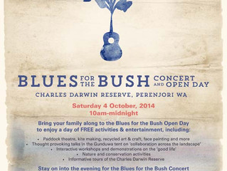 Blues for the Bush 2014
