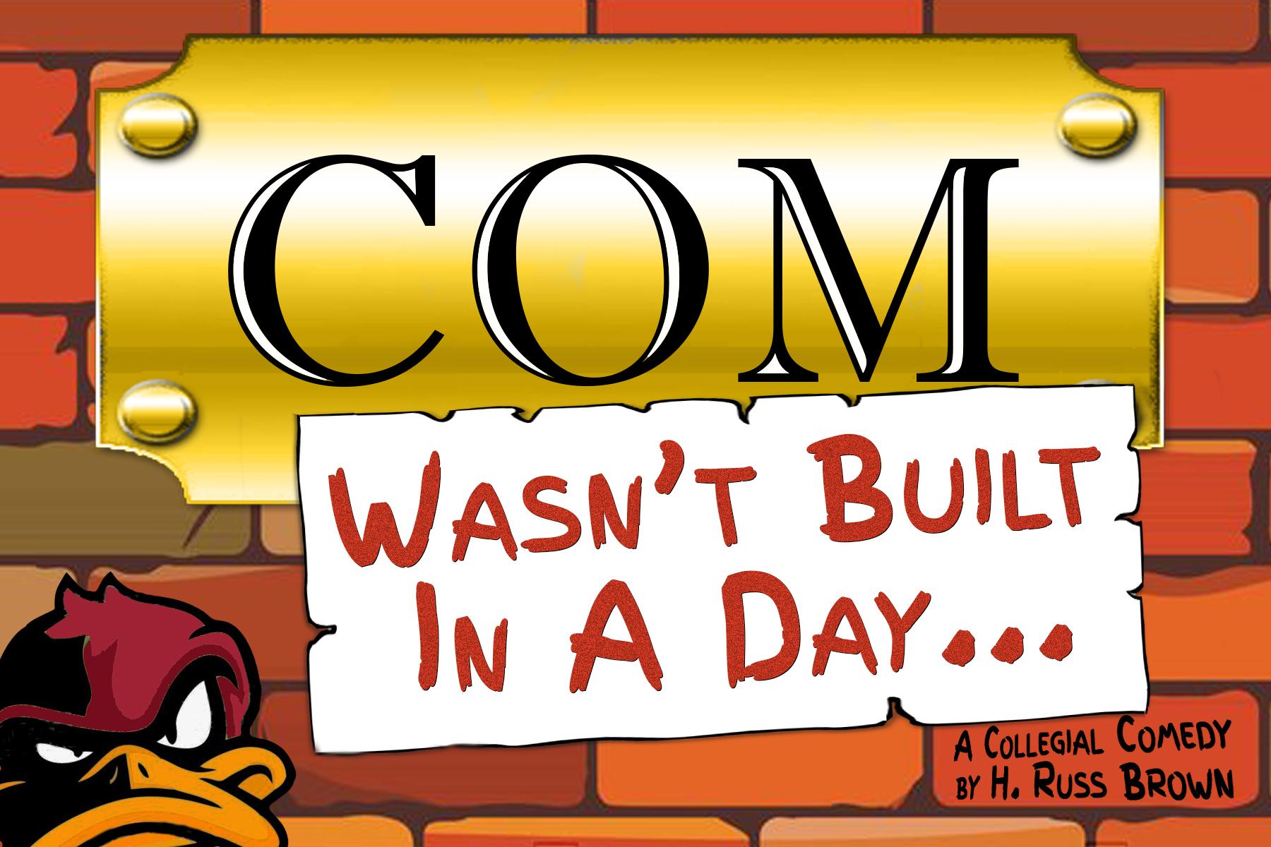 COM Wasnt Built Day 2020 logo