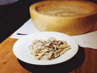 Cognac Flambéed Truffle Pasta