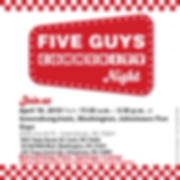 Five Guys Flyer