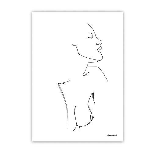 Tessa - Line Art