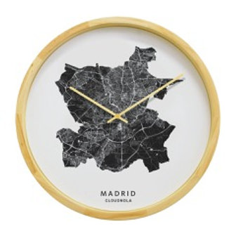 City Map Clock